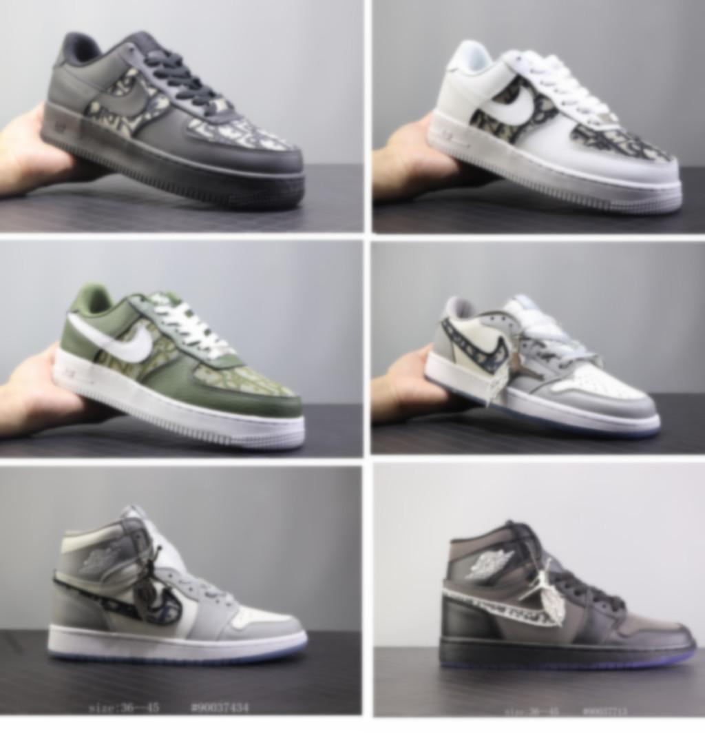 ONE1 DUNK KAPALI erkek ve kadın kalın tabanlı rahat sneakers kaykay ayakkabı kısa çizmeler siyah ve beyaz yüksek kaliteli erkek spor ayakkabı