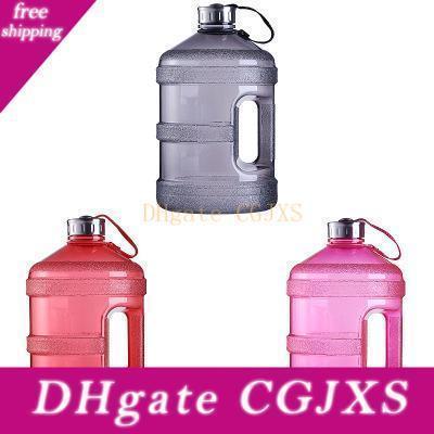 Sport Gallon Biberons bouteille d'eau réutilisable étanche pour l'extérieur Camping Bpa gratuit en plastique