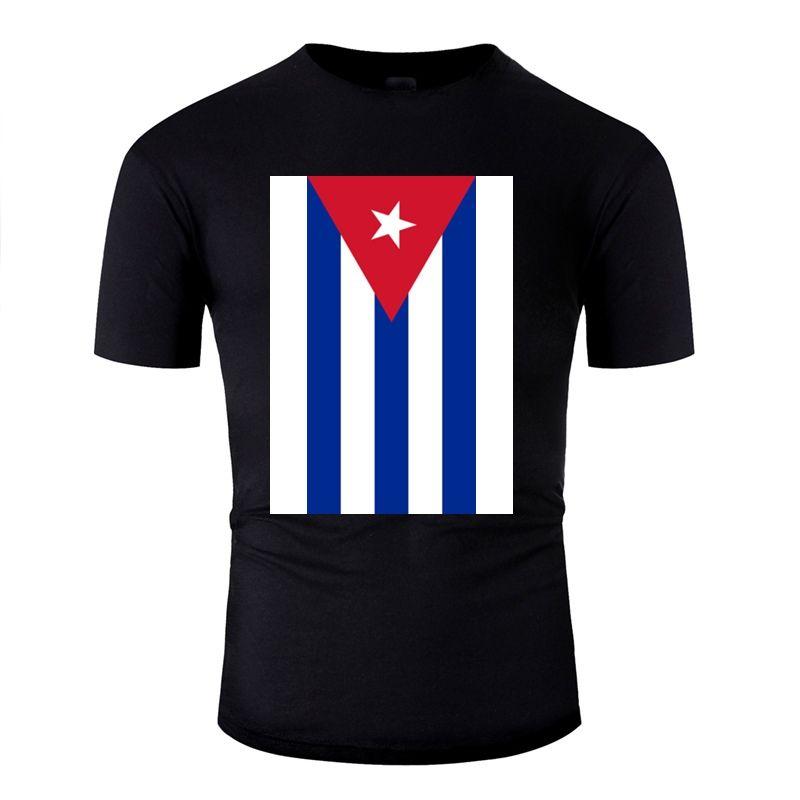 Erkek Pamuk Yenilikçi Boy Kız Tshirts Giyim Artı boyutu S-5XL Tee Gömlek Pop Top Tee Casual Küba T Shirt oluştur