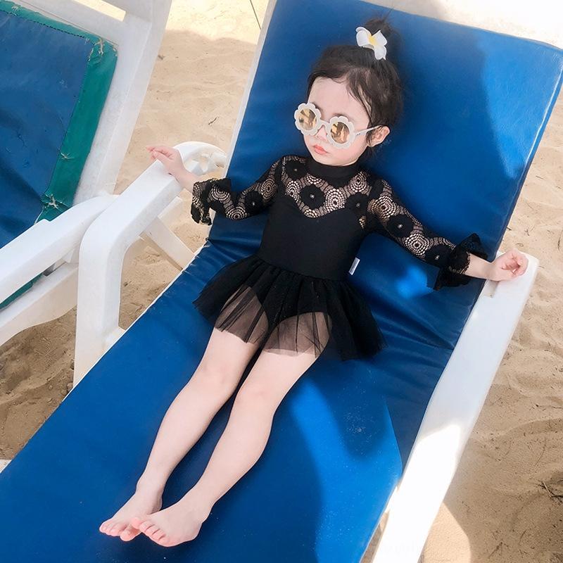 18mrX principessa vestito di un pezzo a prova di sole cute donna del costume da bagno ragazza principessa bambino bambina costume da bagno bambino