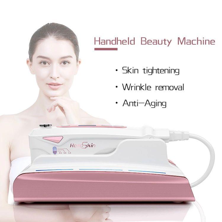 2020 Skin HIFU Face Lifting Skin Tightening Wrinkle Removal HIFU Therapy High Intensity Focused Ultrasound Portable HIFU Machine