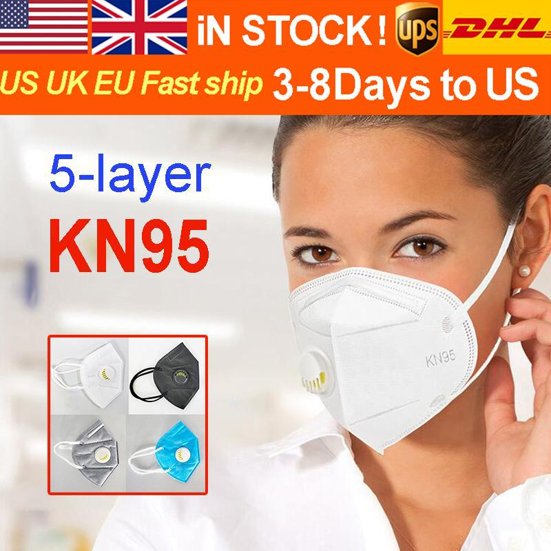 DHL Fast Shipping US Licensed Export Factory Face Mask Folding Face Mask With Qualified Certification Anti-dust Face Masks Wholesale Supply