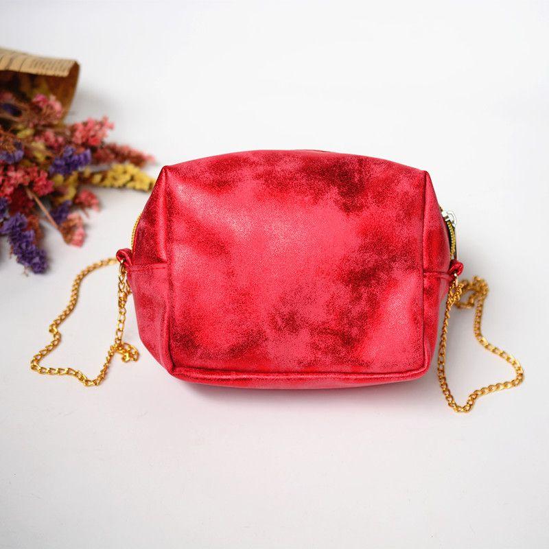 Handtasche Kleine Handtaschen Geldbörse Für Taschen Schulter Party Mode Rote Kupplungen Tasche Mit Metall Messenger Designerkette Weibliche Frauen Lnsus