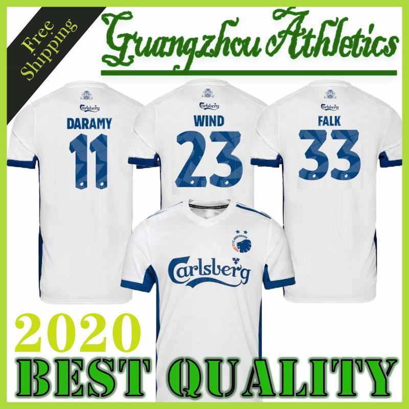 20 21 FC Copenhagen casa camiseta de fútbol de distancia terceros 2020 2021 CAMISETAS Daramy Fischer ZECA viento Falk camisetas de calidad superior de Tailandia