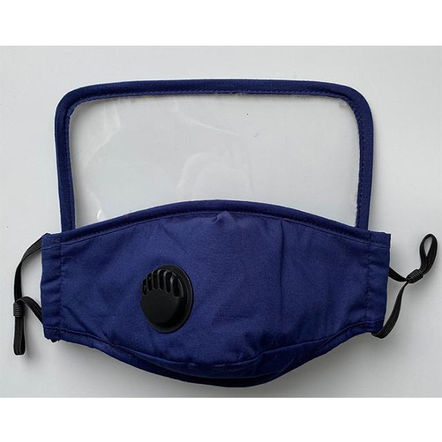 mit Cotton Maske Schutzschirm um das Gesicht und Augen zu schützen