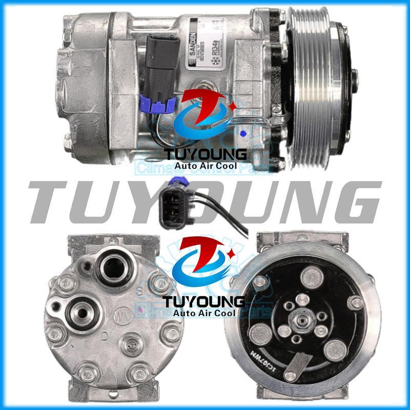 Alta calidad SD7H15 Auto AC Compresor para Volvo GM 8088112 125 mm SD 6pk 4494 4757 4891