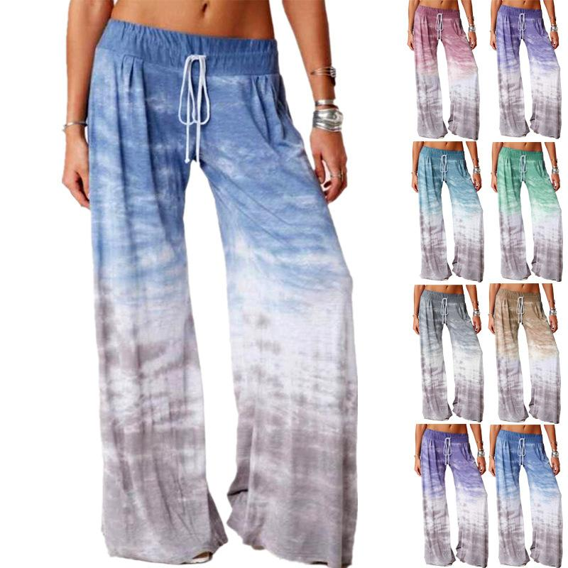 Women's Casual Loose Leggings Yoga Pants Sexy Sports Pants colorful leggings elastic New Lift Hip Finesse Running Tights