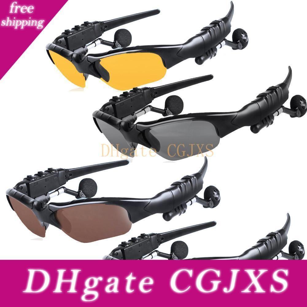 Stereo Bluetooth Güneş Gözlükleri Kulaklık Can Konuşma için Müzik Kulaklık Spor Güneş Gözlükleri Bluetooth Kulaklık Sunglass Dinle
