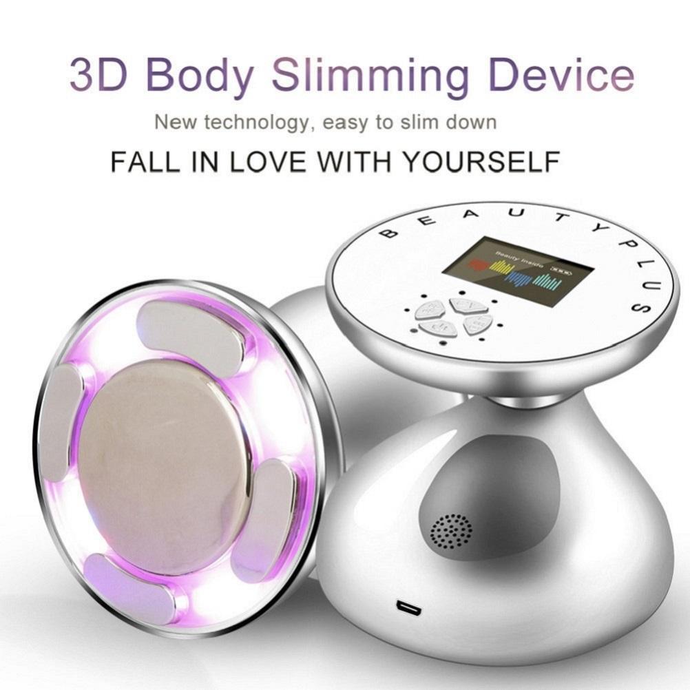 RF التجويف بالموجات فوق الصوتية آلة التخسيس مدلك LED الدهون الشعلة مكافحة السيلوليت يبو الجلد تشديد الوزن فقدان الدهون