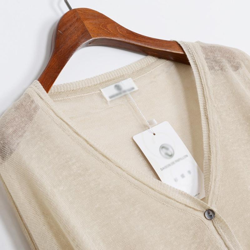 LlGjI artístico de gran tamaño sueltos manga del palo de la ropa de lana suéter suéter largo de la manga corta de lana mantón ramio chal chaqueta de punto del todo-fósforo J02