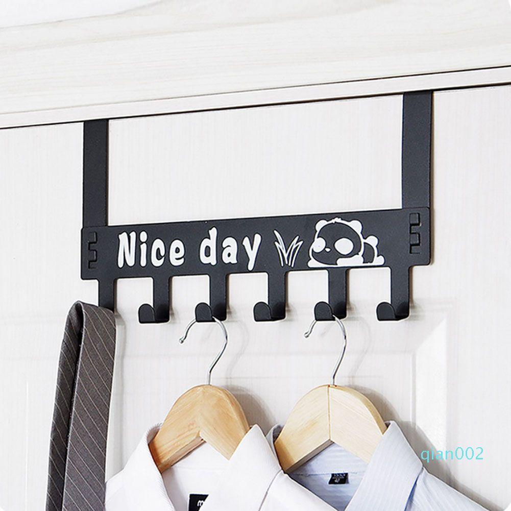 Simple Home Крючок для одежды Творческих съемных стен Металла Полотенце Вешалка Кухня Ванной Одежды Hat для подвешивания