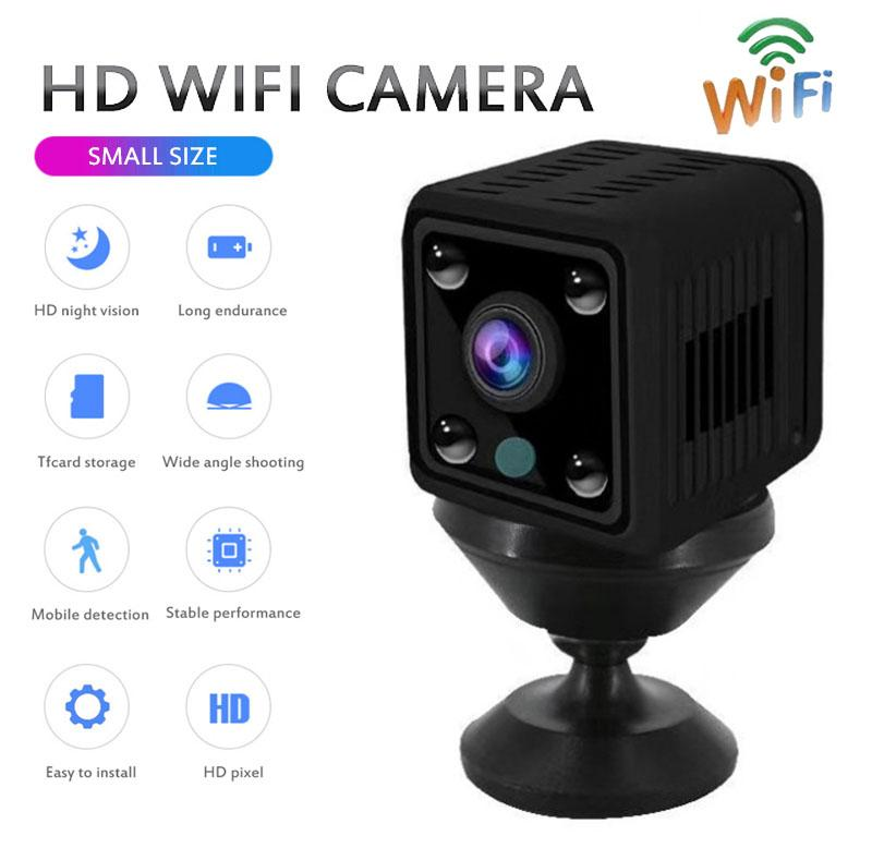 X6 Mini Wifi Camera Cam Home Security Small Wireless Camera High definition Indoor Night Vision Mobile Phone Remote Network Cameras