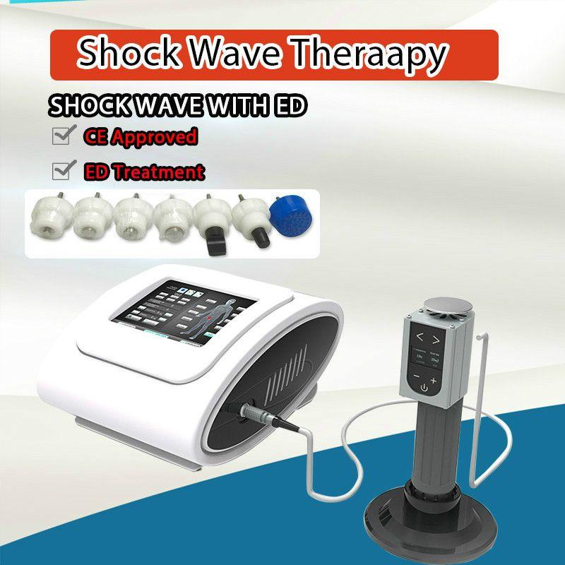 Новый дизайн ударно-волновая машина экстракорпоральной Ed Ударная волна низкой интенсивности экстракорпоральной ударно-волновой терапии Оборудование