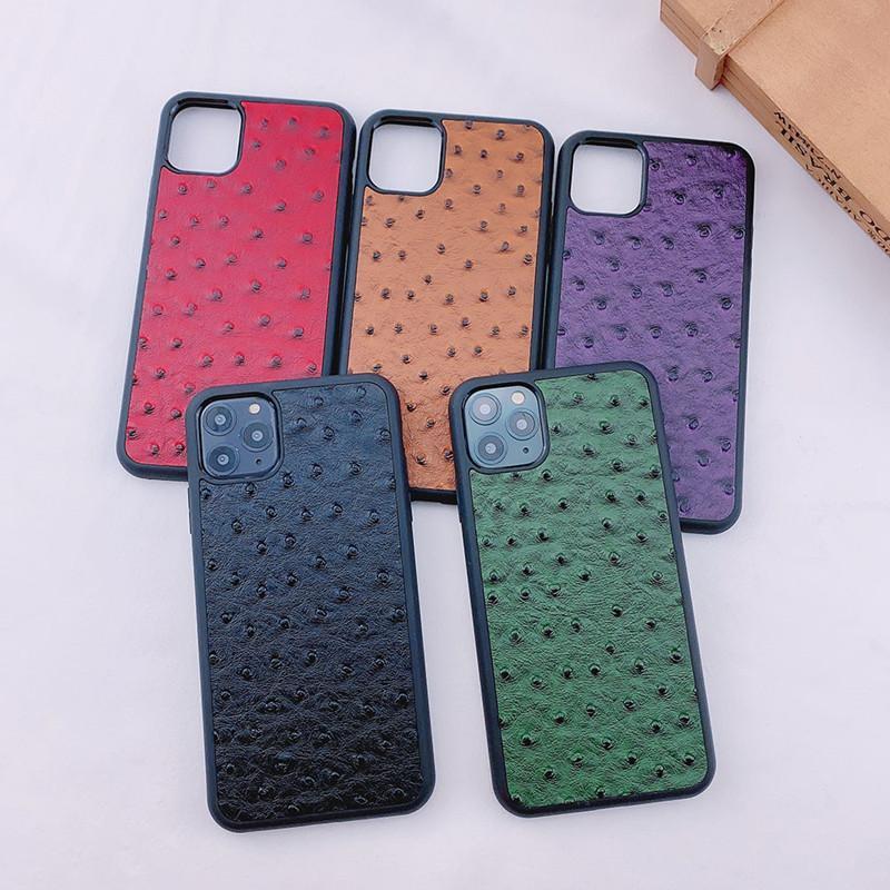 Designer Mode Telefon Hüllen für iPhone 12 11 Pro X XS MAX XR 8 PU-Lederabdeckung für iPhone 12 Mini-Fälle