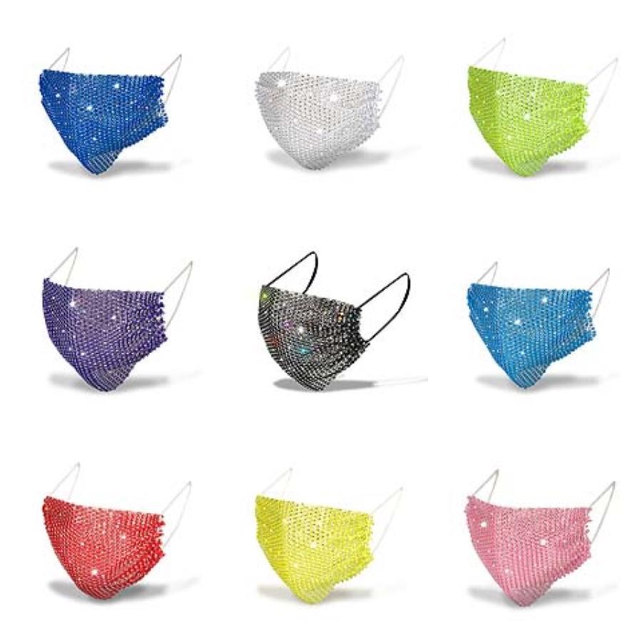 Las nuevas máscaras cielo estrellado ciclismo Imprimir Hairband cara exterior venda de la bufanda ligera y transpirable EDC mágicos suaves Headwear 8 colores K953-1 # 576 # 960