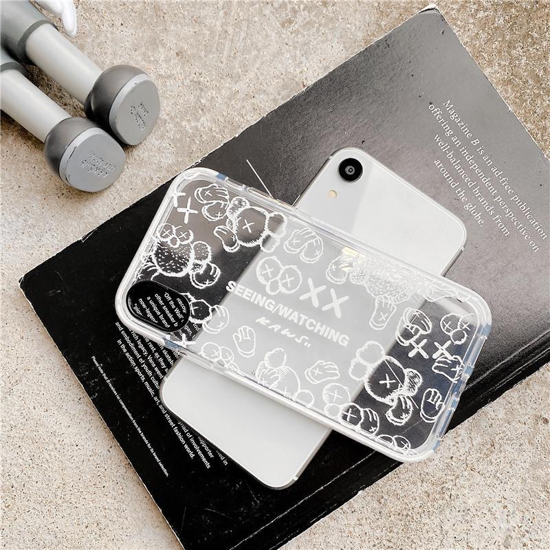 Alte Blumen Brief Telefon-Kasten für Iphone 11 Pro Max SE Xr Xs 8 7 Plus-Stoß- Silikon Löschen Cover