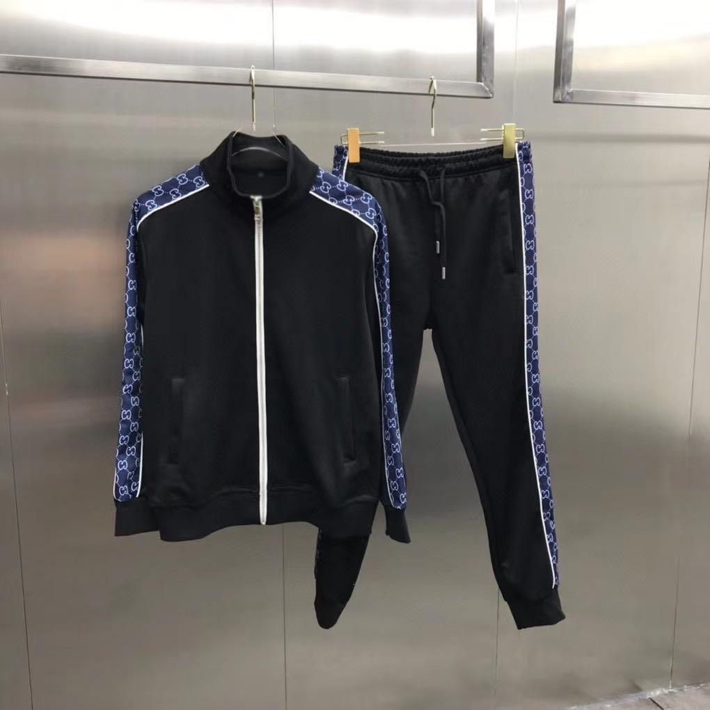 20s ropa deportiva de moda chaqueta deportiva corriendo medusa hombres de ropa deportiva impresión de la letra