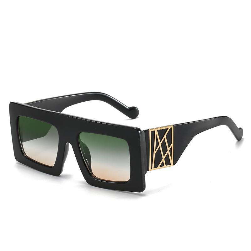 personnalité nouveau style Big lunettes cadre lunettes lunettes de soleil