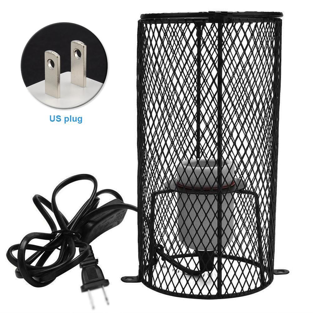 Artículos para mascotas Pollos E27 hámsteres para el sostenedor reptiles con jaula de la lámpara de calefacción
