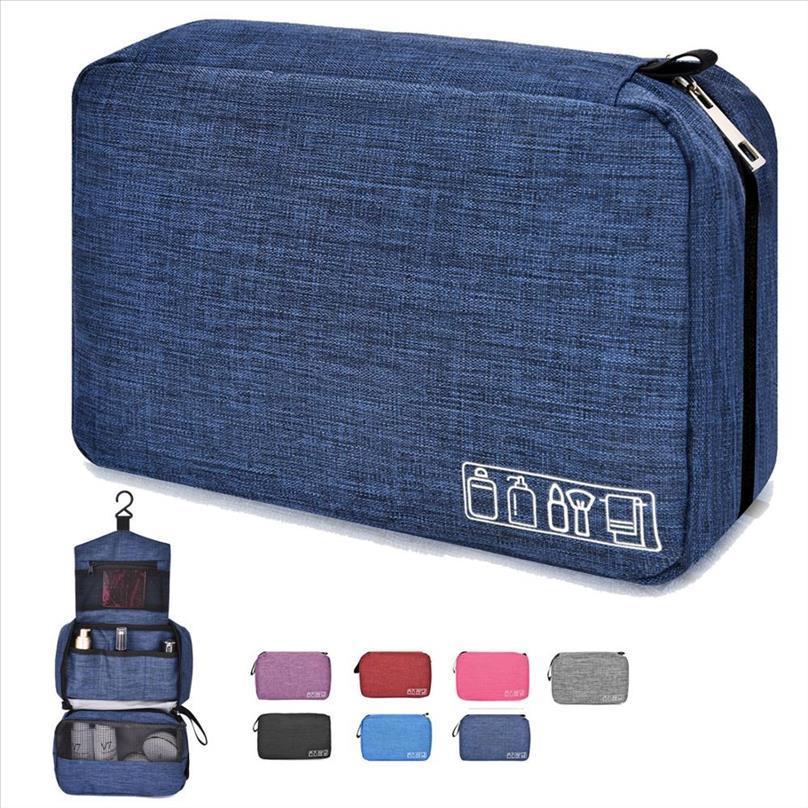 Soperwillton Мужская туалетная сумка, висит путешествия бритья допп комплект организатор сумка идеальный доступ вспомогательный подарок Roupa Feminina