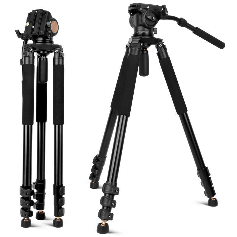 New QZSD Q680 digital SLR camera tripod camera stability bracket with hydraulic damping tripod head