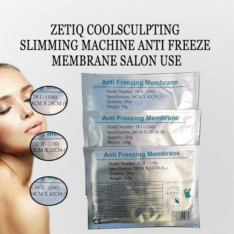Heiße verkaufen20pcs Frostschutz Membrane für kaltes Vakuum Schönheit Ausrüstung Fat Freeze-Gewicht reduzieren Therapie-Maschine