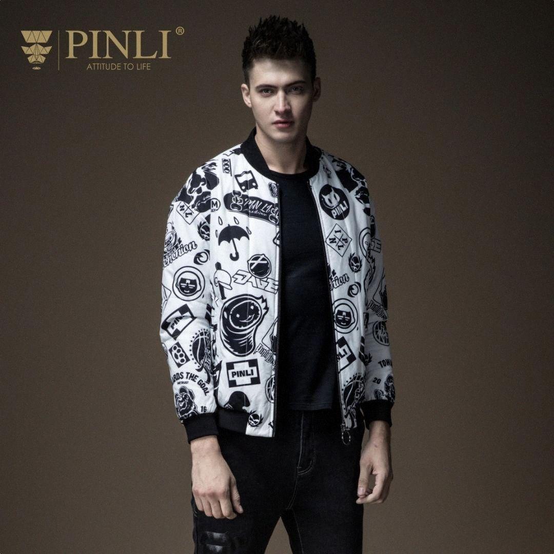 Wear Chaqueta de invierno de los hombres chaquetas New Real Pinli Pin Lai hombres del otoño, vestido, garabatos, Calle béisbol, la capa del collar, B183505581 O0Uq #
