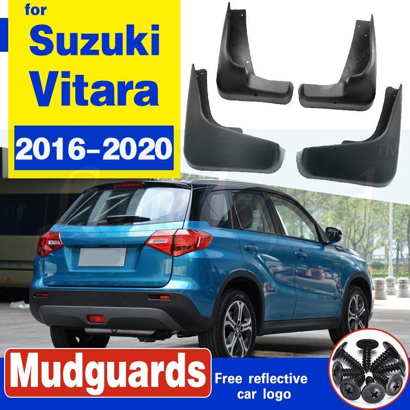 Car Styling Garde-boue Garde boue boue Rabats FIT POUR 2016-2020 Vitara Suzuki Escudo Fender 4pcs / set 2017 2018 2019