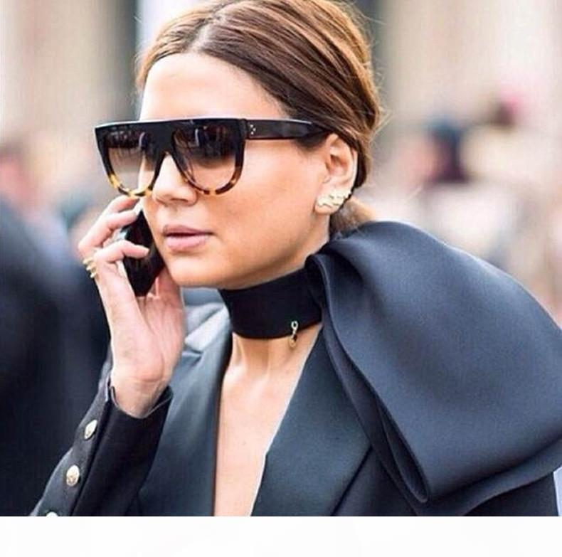 Del progettista di marca Audrey 41026 donne di modo occhiali da sole occhiali da sole delle donne con la confezione di vendita al dettaglio leopardo corrispondenza del colore del grano