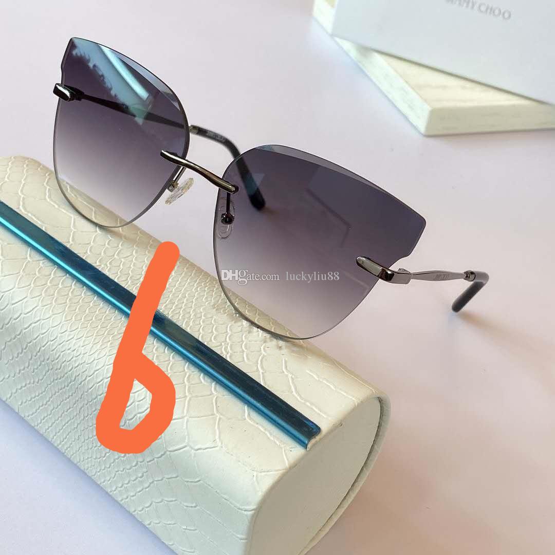 venda quente estilo de praia caixa original de verão Cat a forma das mulheres dos olhos óculos de sol Mulheres Retro Sun Glasses senhoras Óculos Vintage Unframed INS