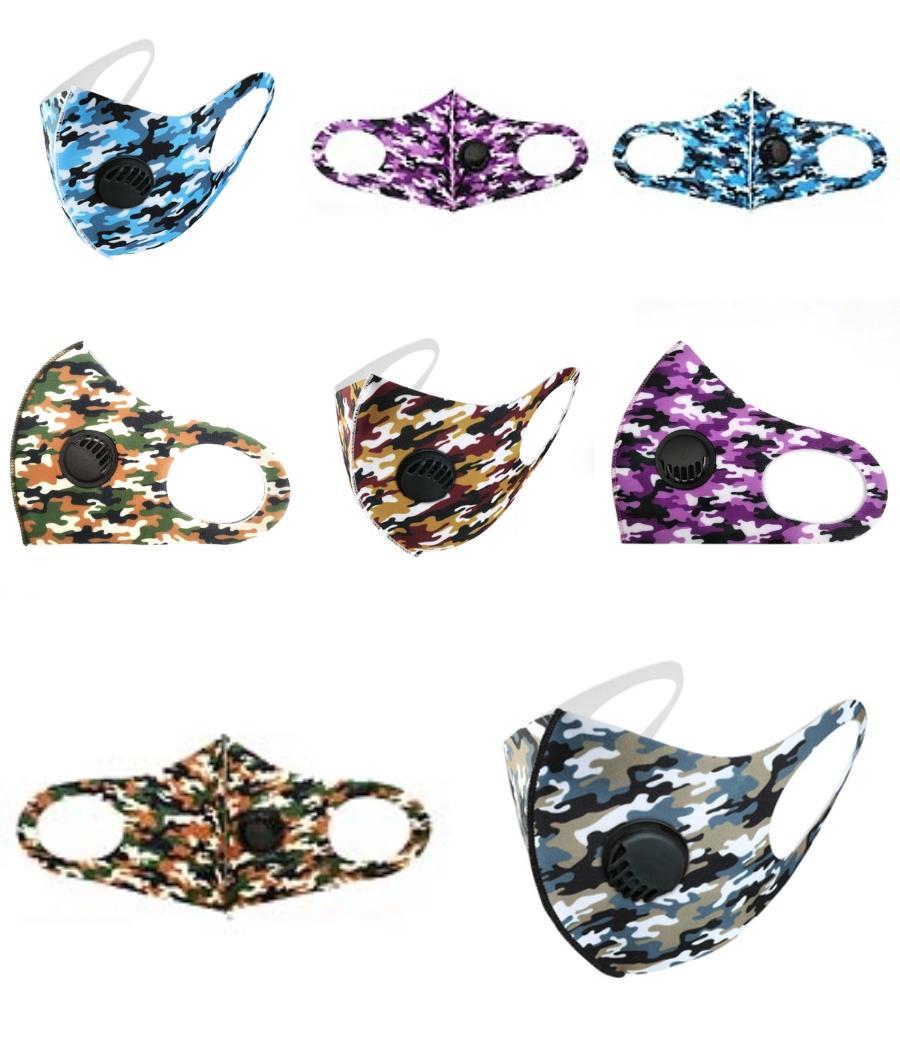 Anti Toz Yüz Ağız Kapak PM2.5 MaskDustproof Anti-Bakteriyel Yıkanabilir Yeniden kullanılabilir Buz İpek Pamuk Tasarımcı Maskeler Araçlar RRA3030 # 606