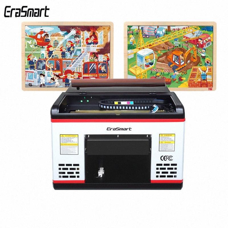 A3P alta calidad de impresión sin escobillas XP600 UV para los rompecabezas de dibujos animados sobre materiales de madera b1s1 #