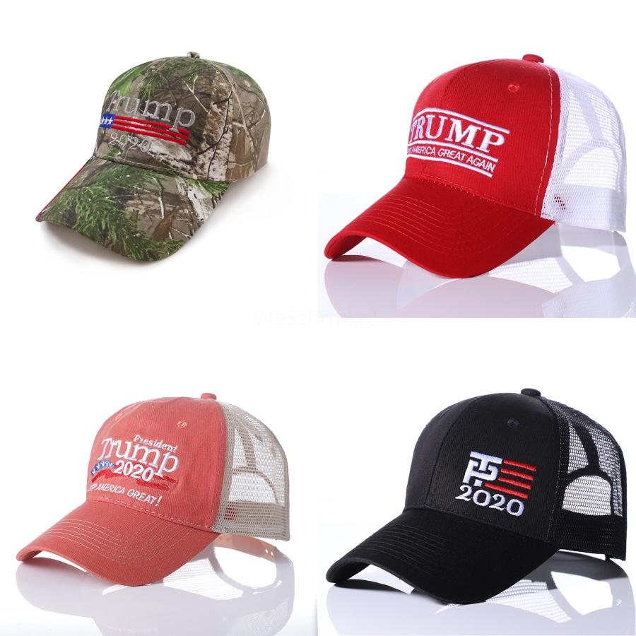 Presidente Trump 2020 cappelli lavorati a maglia Cappelli mantenere l'America grande ricamo caldo di inverno Cappelli sci esterna che lavora a maglia Beanie Cap # 815