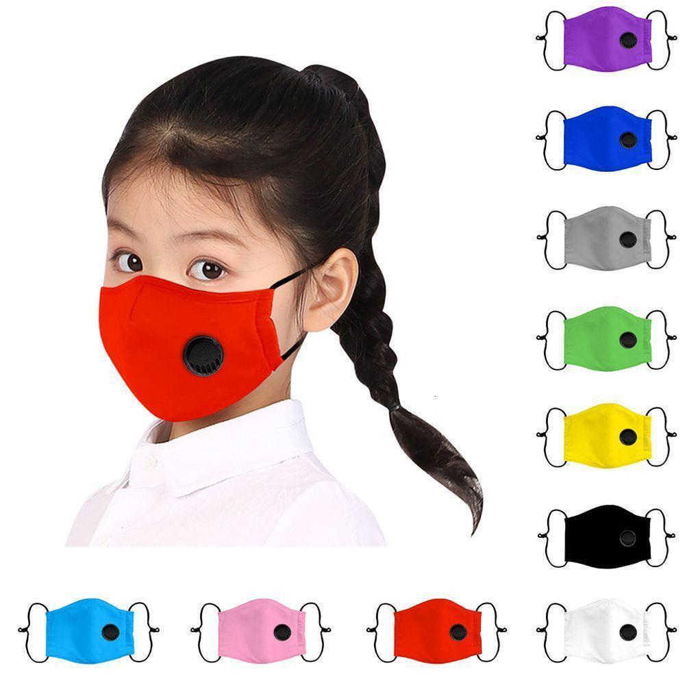 Máscara de niños del bebé 1PC reutilizable a prueba de polvo PM 2.5 Contaminación máscaras respiratorias de la cubierta