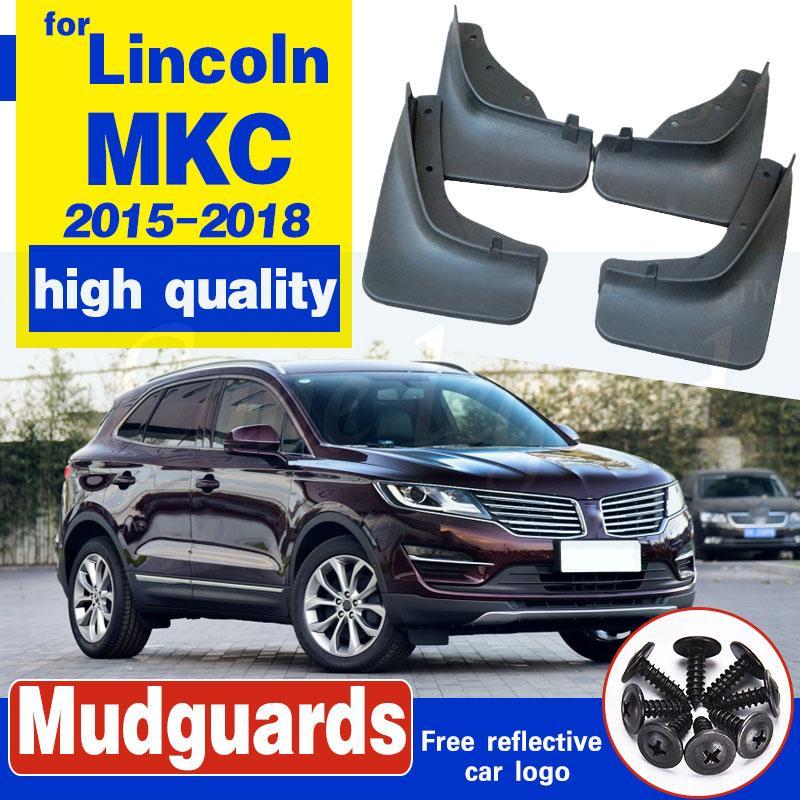 Set von 4 Auto vorne und hinten Spritzschutz Schmutzfänger Kotflügel Kotflügel für Lincoln MKC 2015 2016 2017 2018 Autozubehör