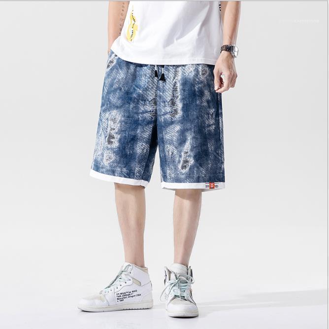 Pantalones sueltos de Carga Hombre Ropa para hombre 2020 de lujo de diseño pantalones cortos pantalones cortos hasta Casual más rodilla