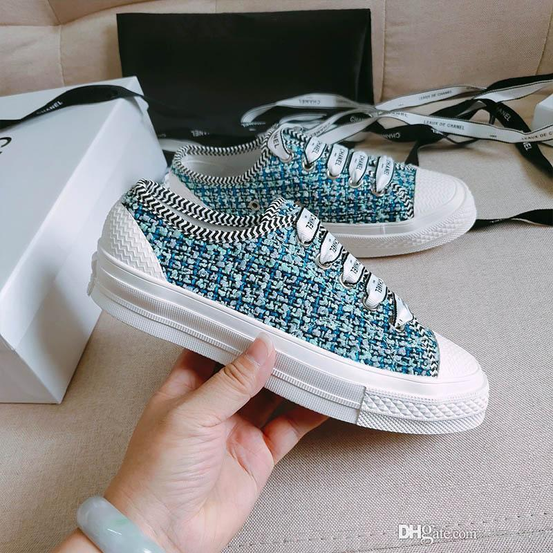 2020 New Summers Rion Miller Chanel No. 19 Casual Femmes CX Chaussures SAGACE solide Chaussures Femmes Glissement Chaussures plates Chaussures de course
