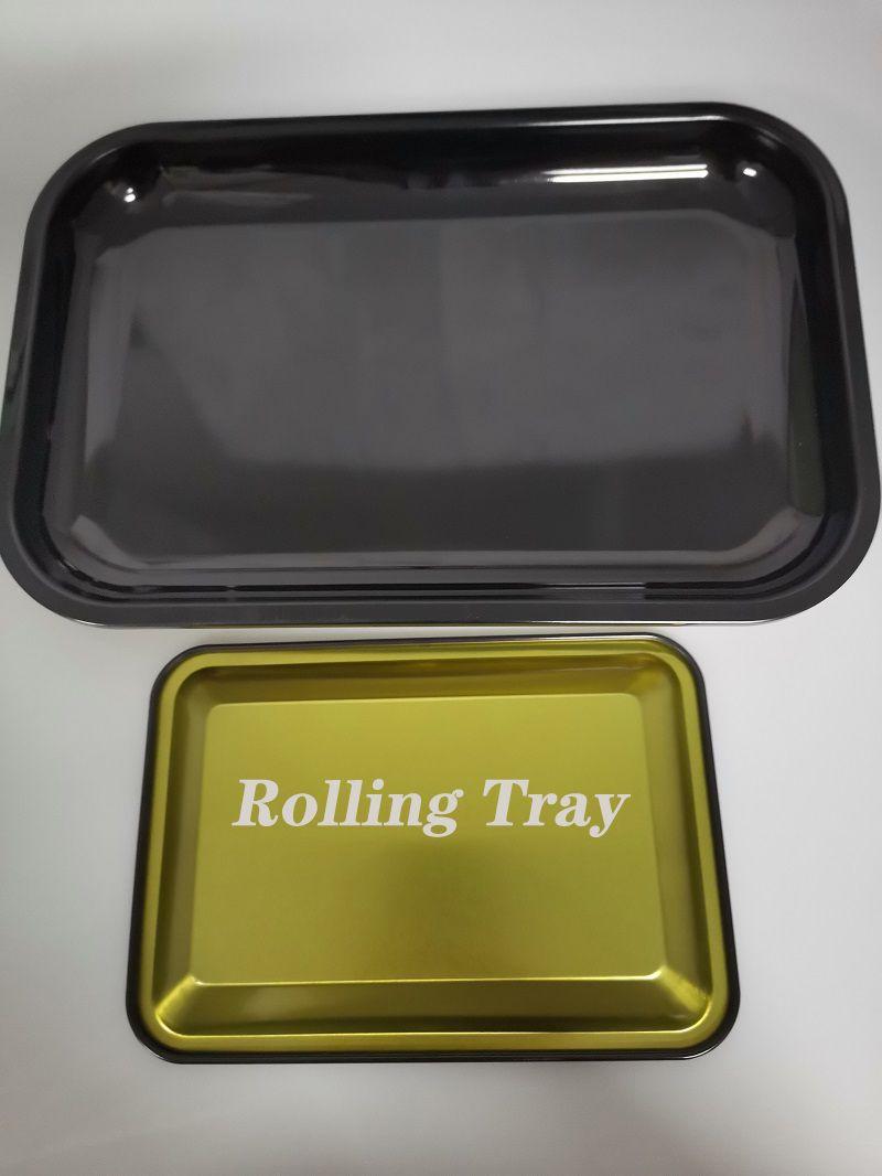 DIY Behälter Des Rollen Metall Zigarettenrauchen Behälter Des Rollen Herb Tabak Tinplate Platte Discs Rauch Zigarette Papierfach