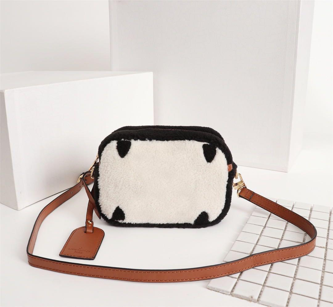 Classic high quality Fashion Luxury Designer Handbags Purses TEDDY Handbags Women Genuine Leather Shoulder Bags purse crossbody bag