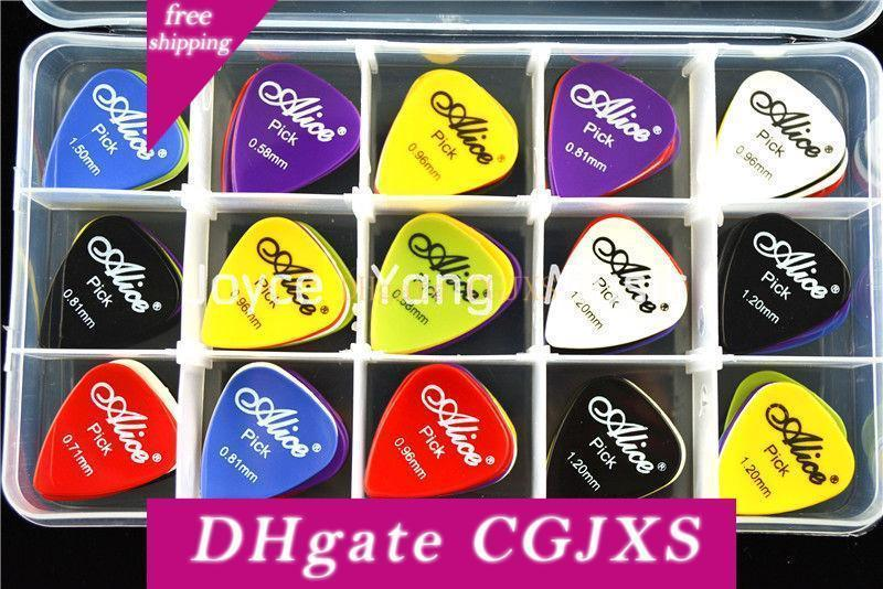 Colors* Acoustic Bulk Celluloid Electric Colored Smooth Guitar Pick LOT OF 10 A
