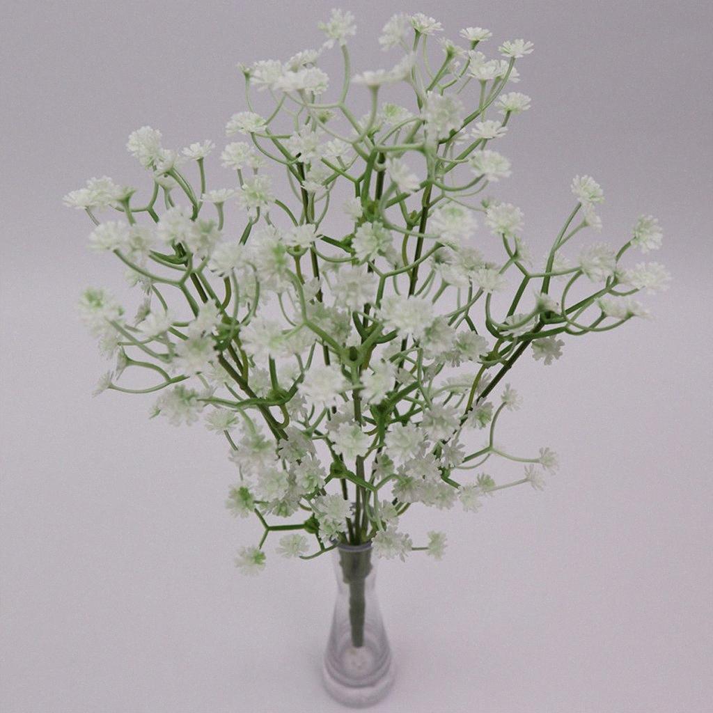 Bambino artificiale Respiro / Gypsophila decorazione Wedding Colore Bianco seta artificiale Fiori Yohu #