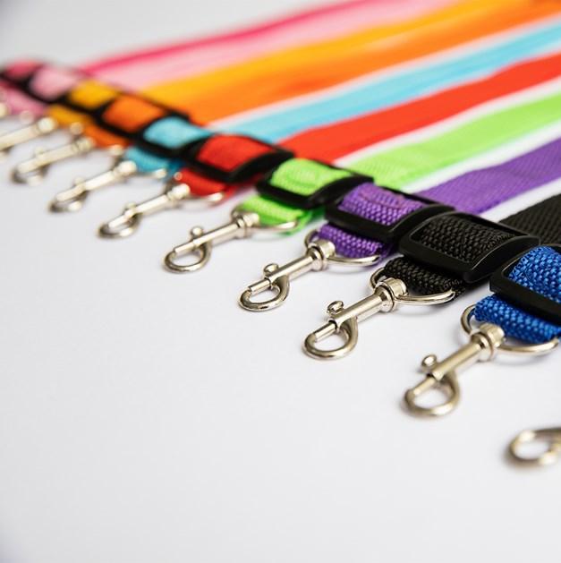 Pet Dog Cat Car Seat Belt Adjustable Harness Seatbelt Lead Leash for Small Medium Dogs Travel Clip Pet Supplies 11 Color