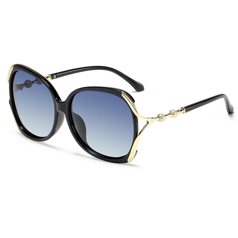 Fashion Polarized Sunglasses Women 2020 Retro Plastic Driving Sunglasses Female Shades UV400 Lunette De Soleil Frame