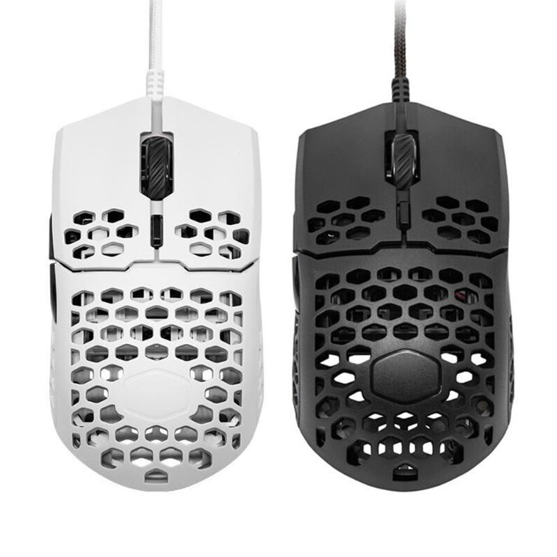 MM710 Gaming Mouse 7 Game Gear USB Ratos Wired 16000 DPI Honeycomb Shell Usando Supplies PC Desktop Computer Cuidados Accessaries