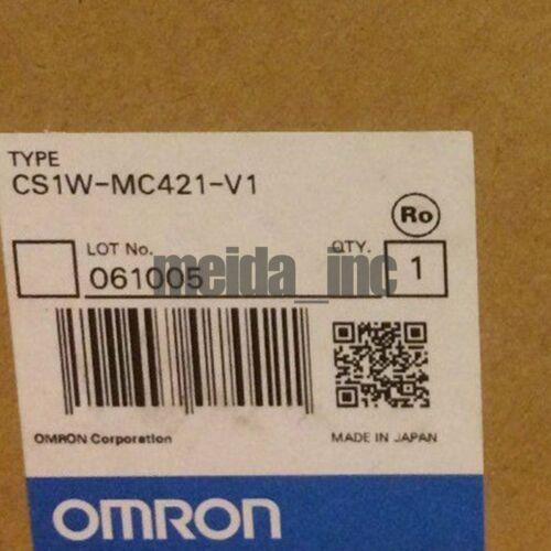 Brand New ПЛК Omron CS1WMC421V1 CS1W-MC421-V1 Обеспечение качества