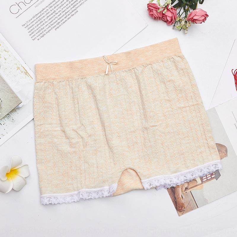 F9znt sexy lace leggings apertadas anti-exposição calças de base de segurança de três partes calças torção segurança perfeita das mulheres
