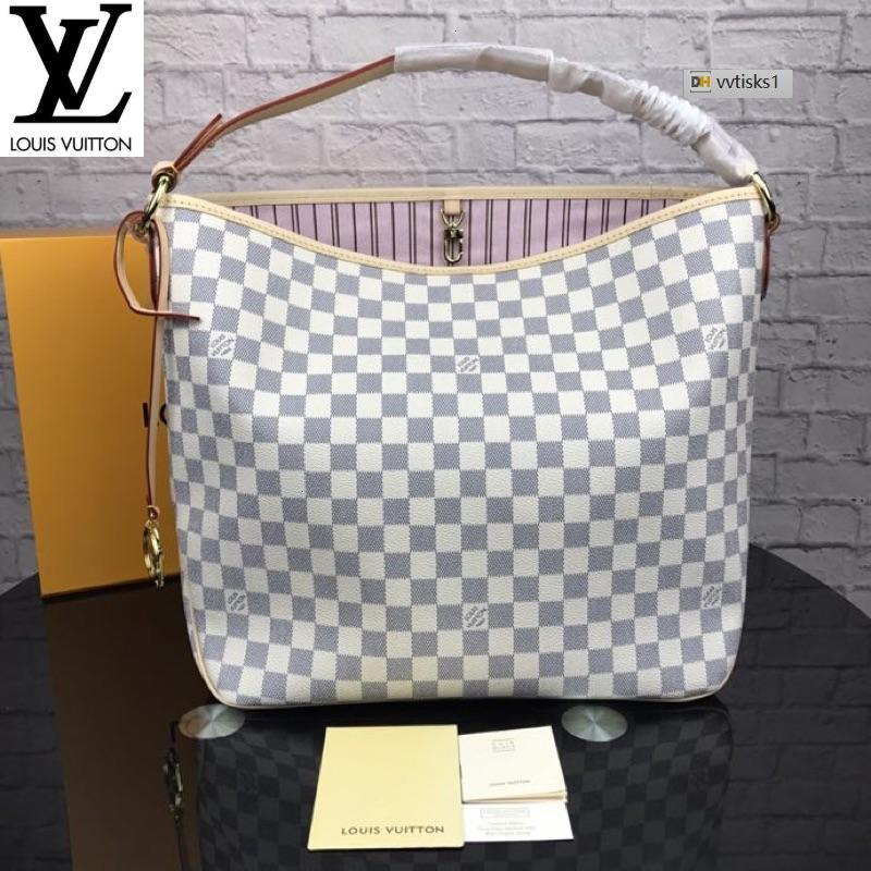 vvtisks1 WI14 White m50157 (A627) Women HANDBAGS ICONIC BAGS TOP HANDLES SHOULDER BAGS TOTES CROSS BODY BAG CLUTCHES EVENING