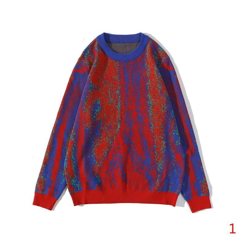 Erkek Kazak Moda Hoodie Kontrast Renk Kazaklar Son Moda Hiphop Streetwear 20s Boys Sweatshirt En Kaliteli Boyut M-2XL