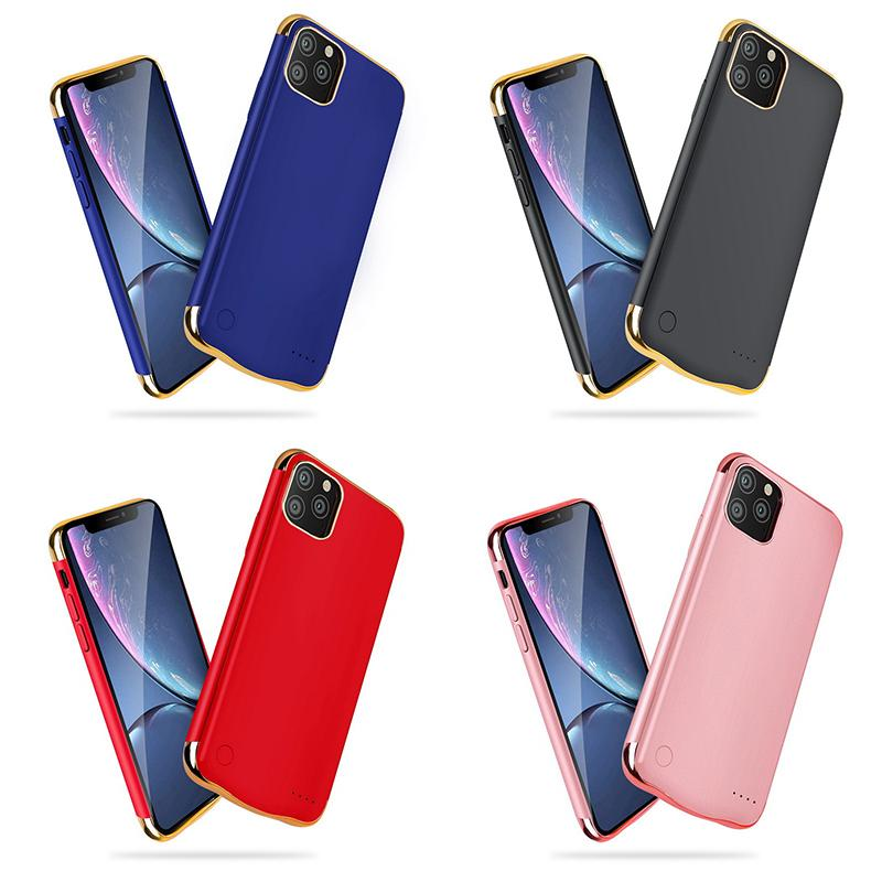 Ultra Slim Battery Case for iphone 6 7 8Plus ultra Slim External Pack Backup 6000mah capacity for iphone 11pro max battery Charger Case