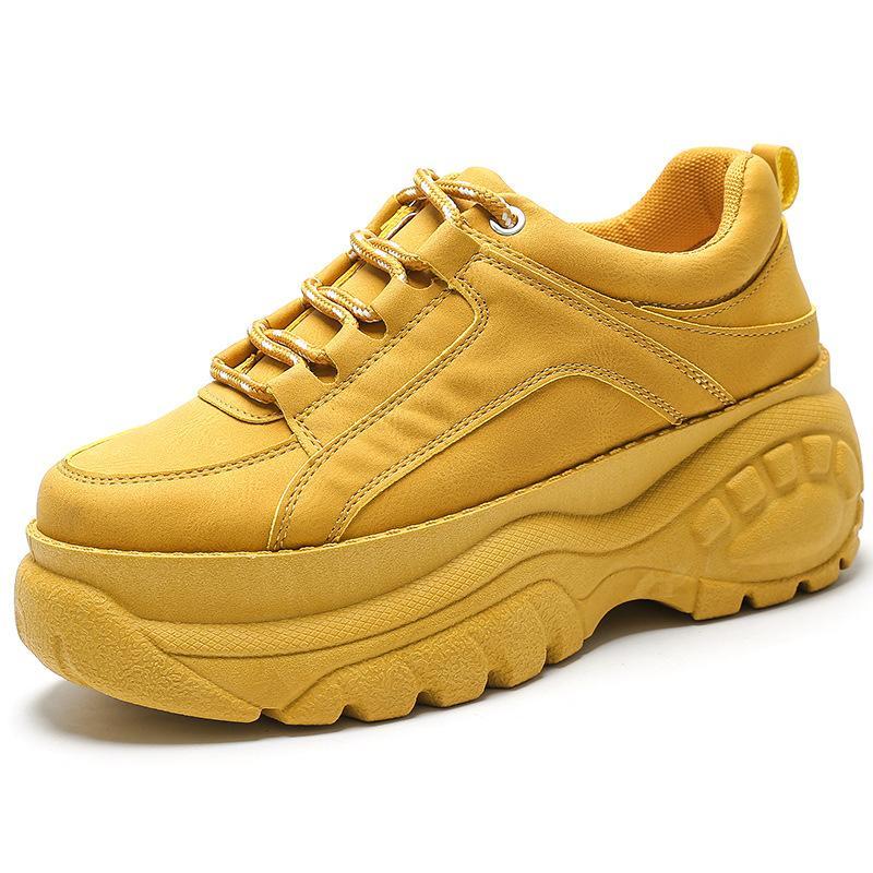 Mode Femmes Chaussures Casual New Bright résistant à l'usure Chaussures Casual petites Blanches Chaussures de sport Spot femmes